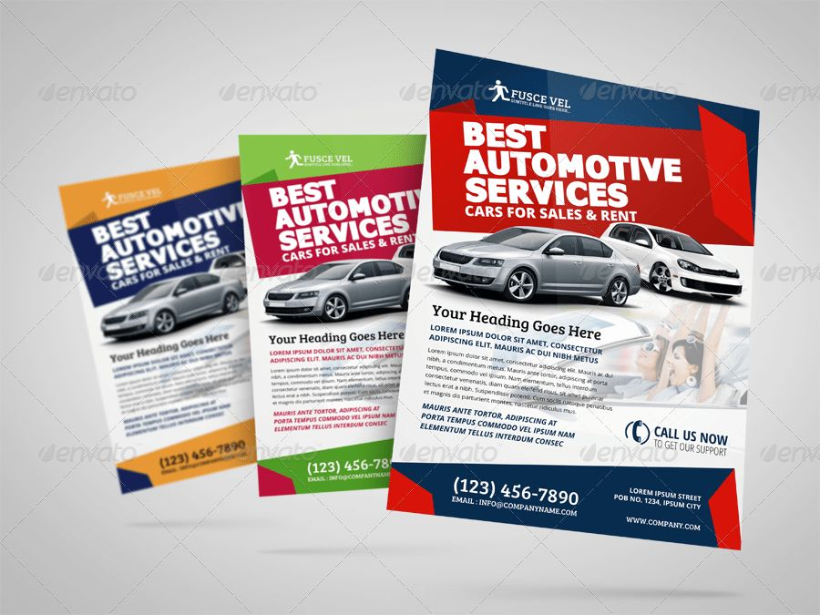 Automotive Car Sale Rental Flyer Ad Template Vol.4 by Jbn-Comilla ...