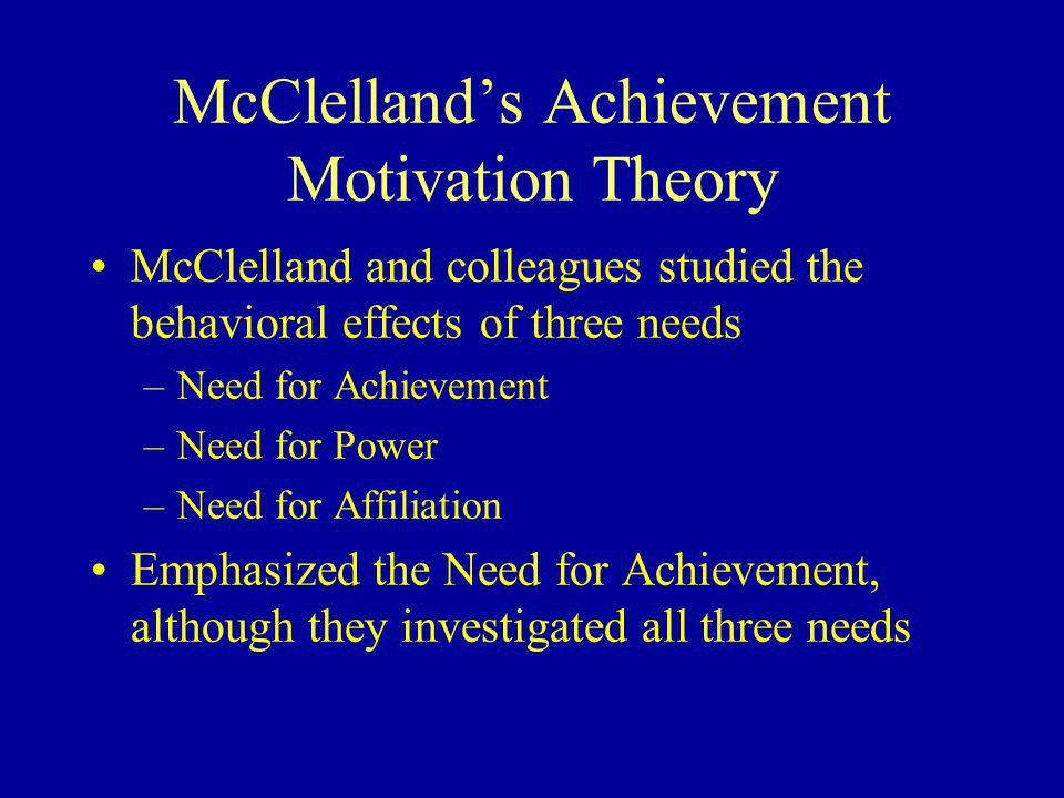 Chapter 7 Motivation: Need Theories - ppt download