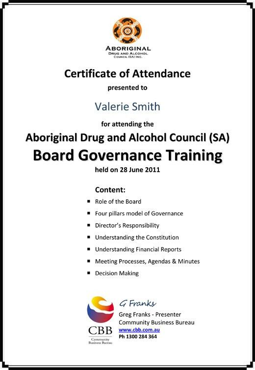 Aboriginal Drug & Alcohol Council (SA) Inc.