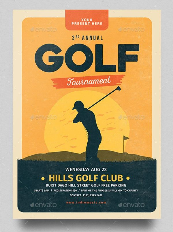 19+ Golf Flyer Templates - Free PSD, AI, EPS Format Download ...