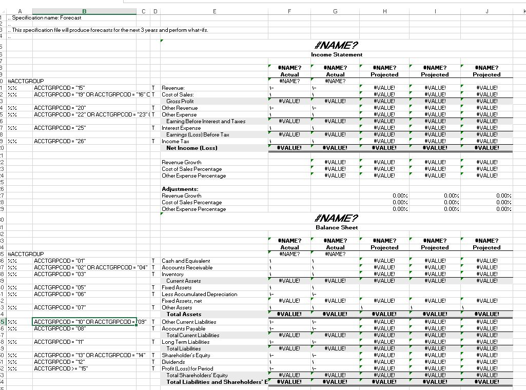 2) On spec: Getting to know the sample financial statements - Sage ...
