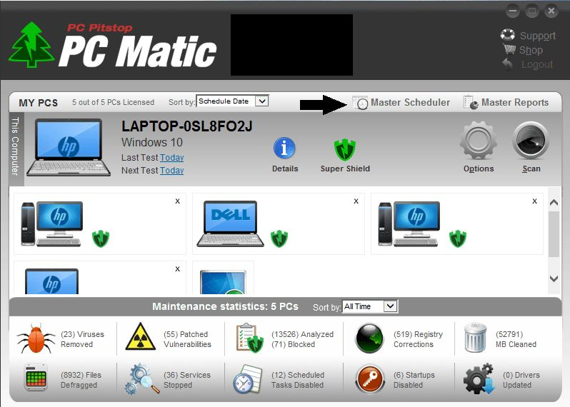 PC Matic Removes Registry Cleaning Tool From Default Programming