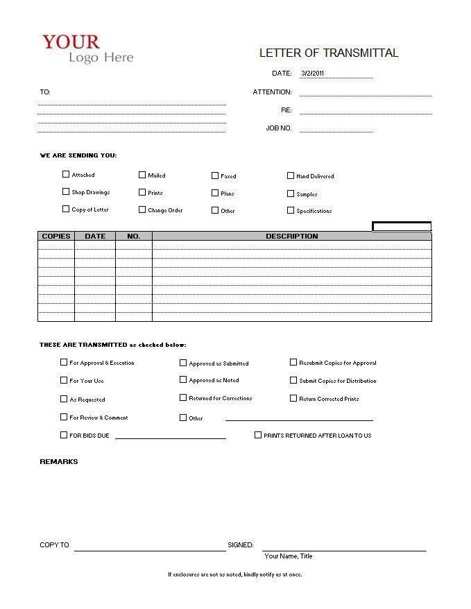 Transmittal Format Sample Transmittal Form 9 Examples In Pdf – Transmittal Format
