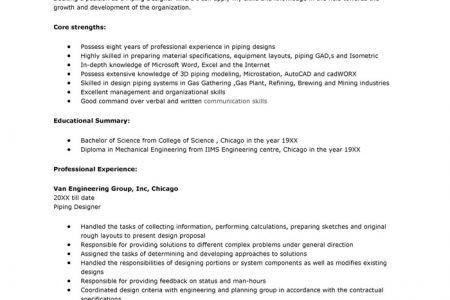piping designer resume pipe designer resume s lewesmr how to write ...
