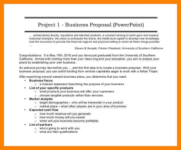 Financial Proposal Template. 7+ Business Proposal Sample Doc ...