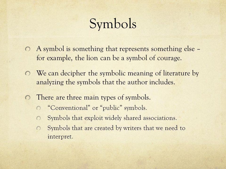 Symbolism. - ppt download
