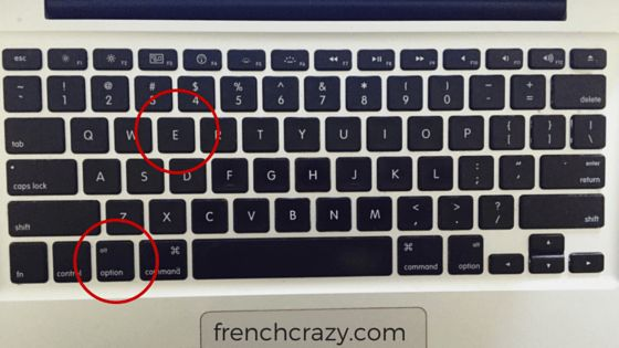 Typing French Accents on Mac - FrenchCrazy