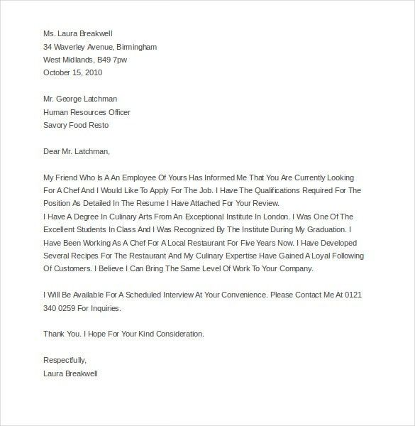 Restaurant and Hotel Complaint Letter – 10+ Free Word, PDF ...