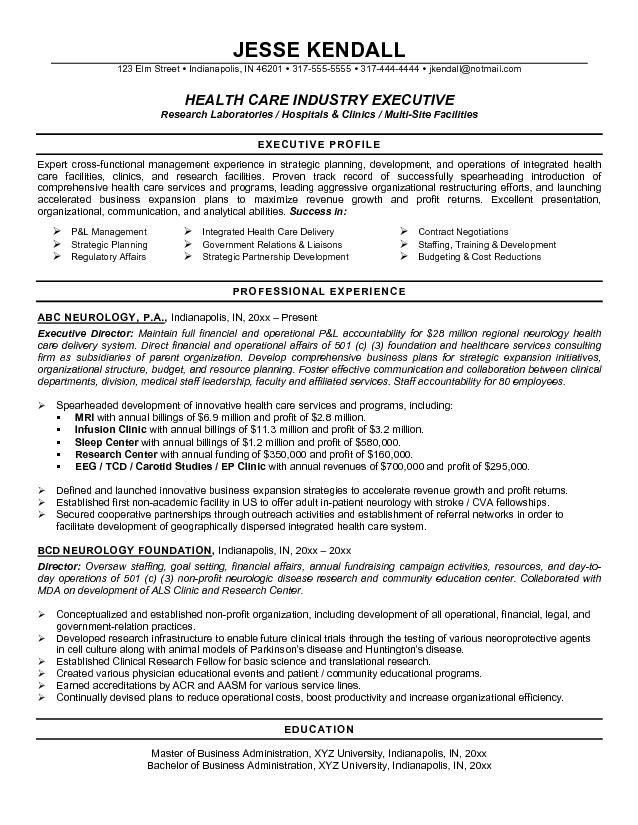 resume samples for healthcare professionals recentresumescom