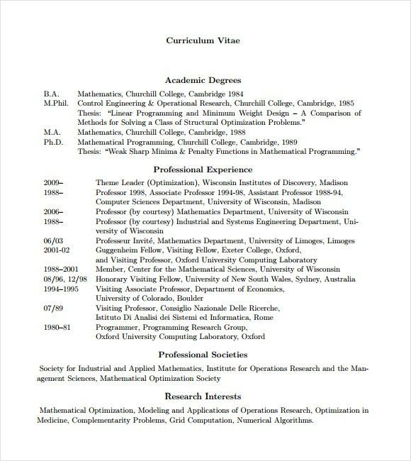 Programmer Resume – 9+ Free Samples , Examples , Format