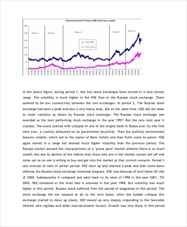 Sample Stock Market Analysis - 8+ Examples in PDF