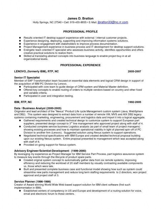 desktop support resume format download desktop support technician
