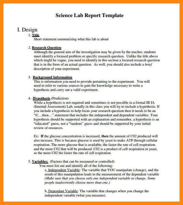 7+ lab report example | nurse resumed