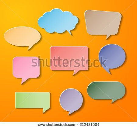 Colorful Modern Text Box Template Website Stock Vector 256810867 ...