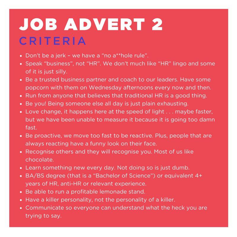 Jargon Free Job Advertisements - Gabrielle Dolan