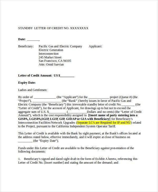 6+ Credit Reference Letter Templates - Free Sample, Example ...