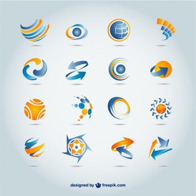 Set Of 300+ Free Logo Templates