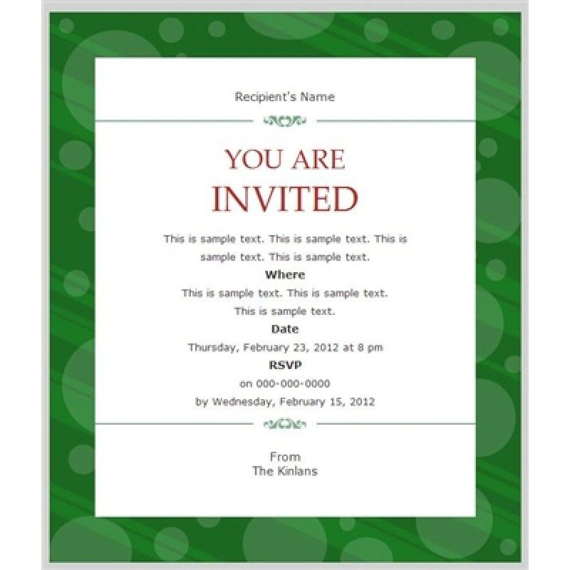 Business Dinner Invitation Sample | Howto.billybullock.us
