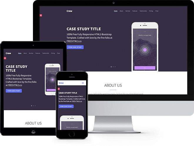 Free Bootstrap Templates and Themes - WoBootstrap