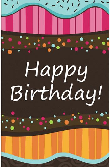 Birthday Card Template | cyberuse