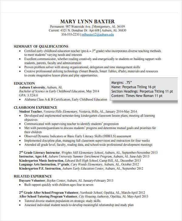 daycare teacher resume professional daycare teacher assistant