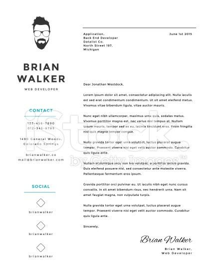 Splendid Design Ideas Creative Cover Letter 4 6 Letters For Job ...