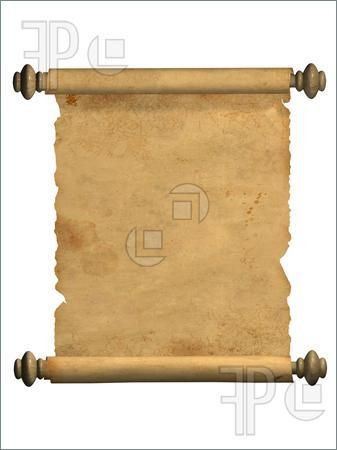 Blank Scroll Template for Microsoft Office   Blank Scroll Outline ...