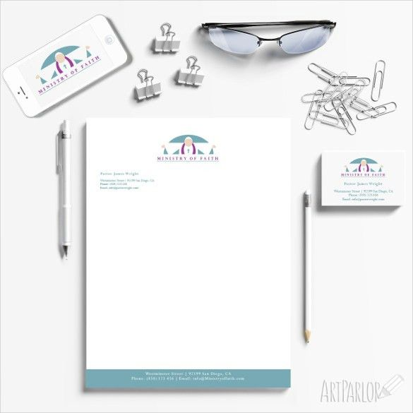 Church Letterhead Template – 13+ Free PSD, EPS, AI, Illustrator ...