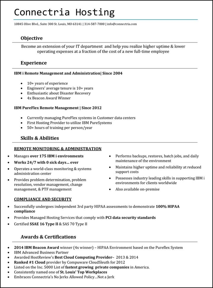 Download As400 Administration Sample Resume | haadyaooverbayresort.com