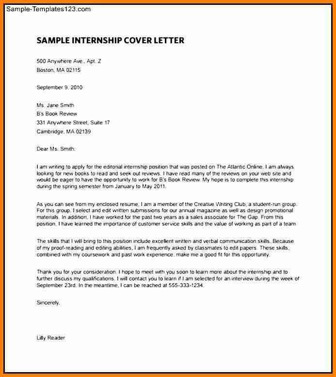 8+ internship letter of intent | budget template