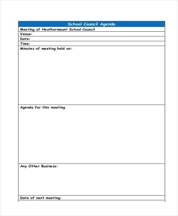 44+ Agenda Templates in PDF | Free & Premium Templates