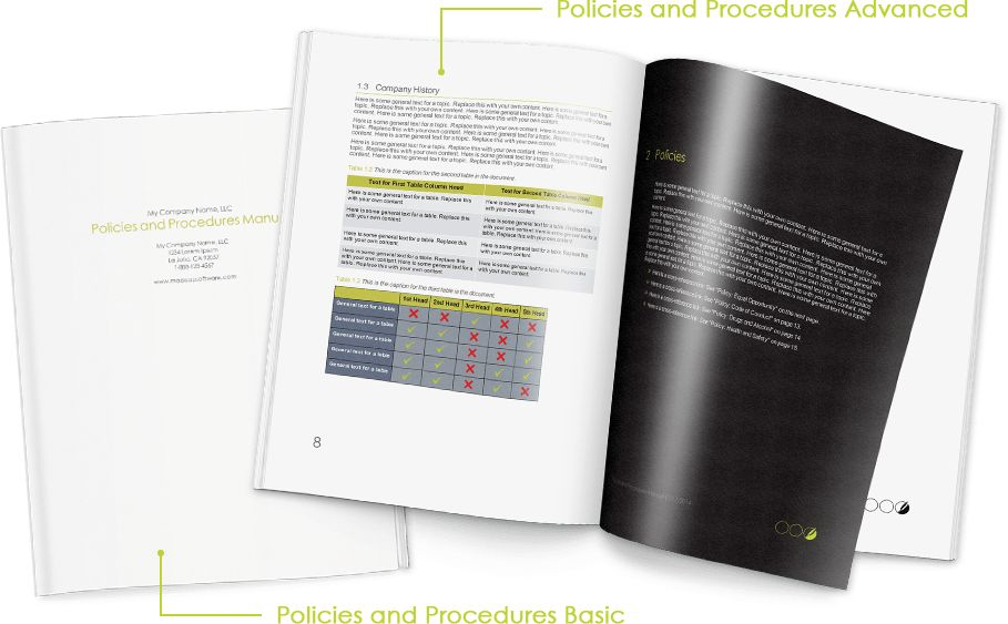 Policy and Procedure Documents with MadCap Flare