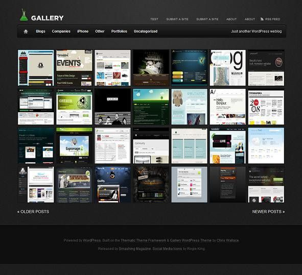 Free & Premium Gallery Showcase Themes & Templates | Evohosting
