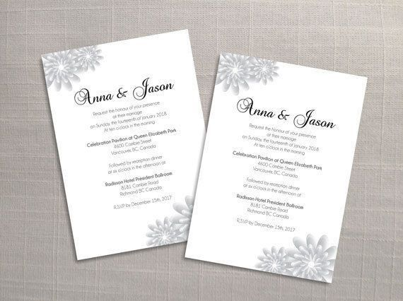 The 25+ best Wedding invitation card template ideas on Pinterest ...