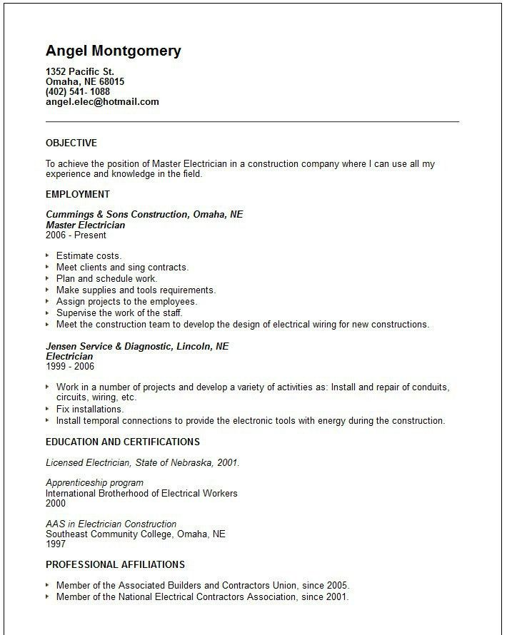 simple and effective apprentice lineman cover letter sample vntask ...