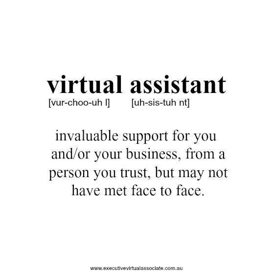 63 best Virtual Assistant images on Pinterest | Virtual assistant ...