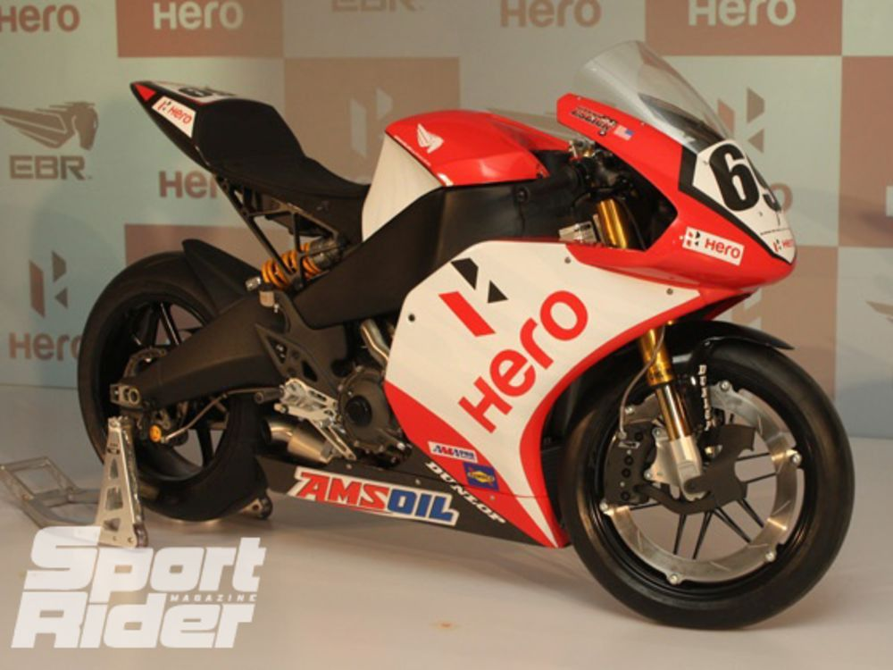 Erik Buell Racing signs sponsorship agreement with India's Hero ...