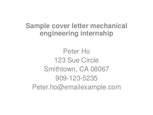 Motion Control Engineer Sample Resume 19 Job Objectives Mechanical ...