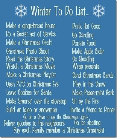 Best 20+ Winter bucket lists ideas on Pinterest | Christmas bucket ...