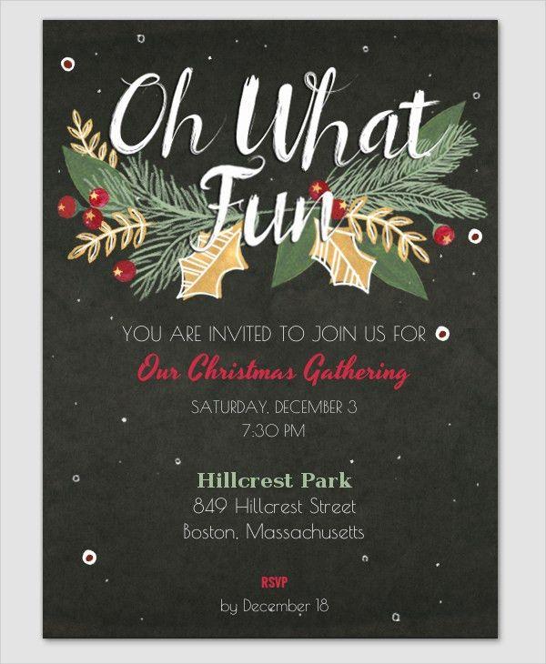 21+ Christmas Party Invitation Templates - Free PSD, Vector AI ...