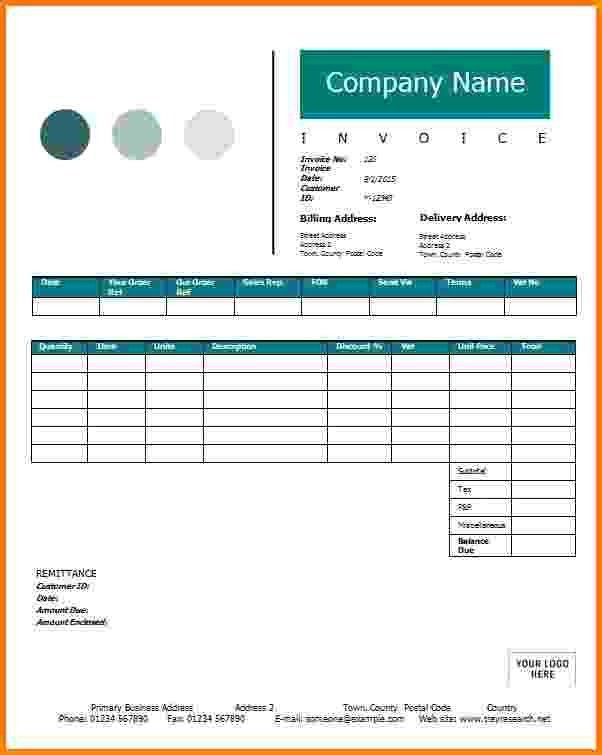 9+ contractor invoice sample | Short paid invoice
