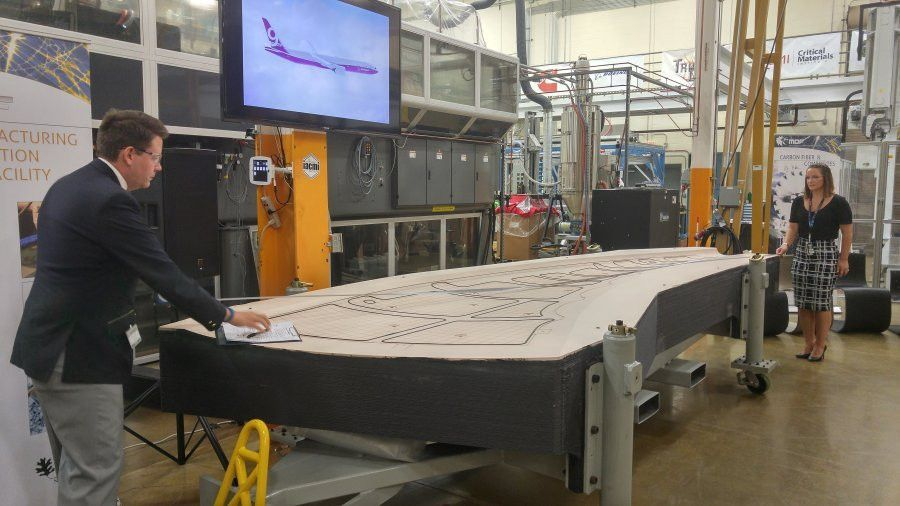 ORNL breaks Guinness World Record for largest solid 3-D printed item