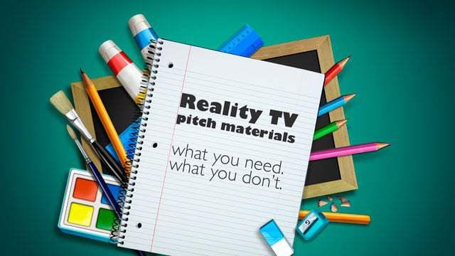 How To Pitch A Reality Show - Producing Unscripted