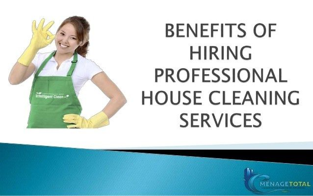 Benefits of Hiring Professional House Cleaning Services