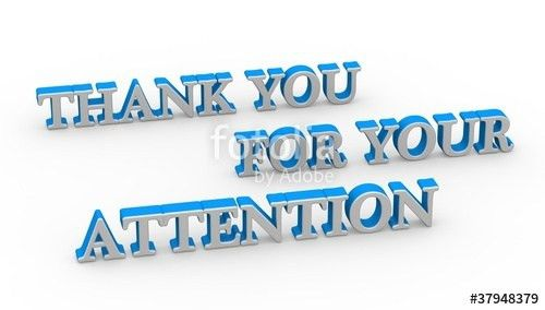 "Thank you for your attention"" Stock photo and royalty-free images ..."