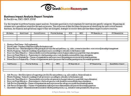 Business impact analysis questionnaire \ Une otite adulte