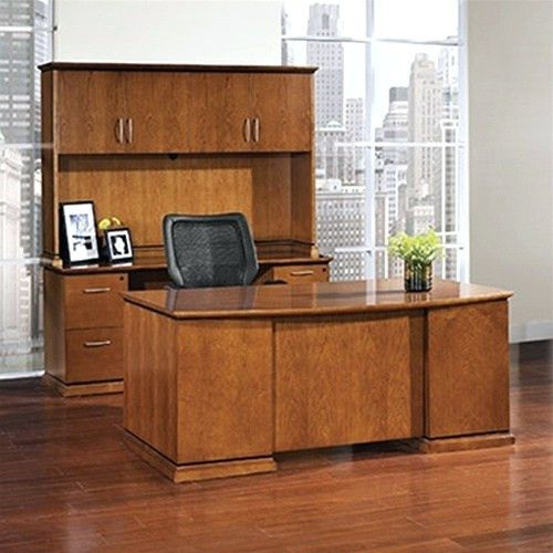 Desk ~ Click Bow Front Desk Office Furniture Front Desk Office ...
