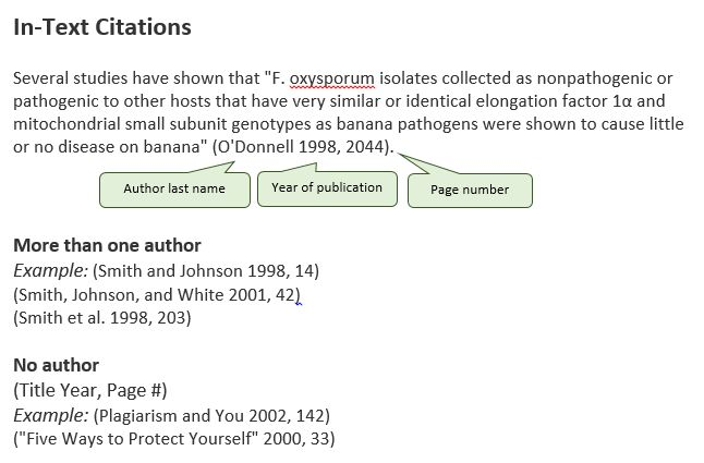 Chicago: Sciences Style - Citing Your Writing - LibGuides at ...