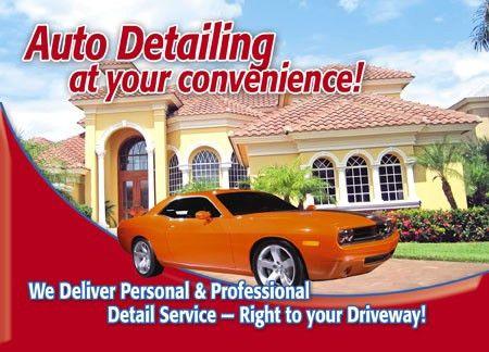 5 Brilliant Automotive Detailing Direct Mail Postcard Advertising ...