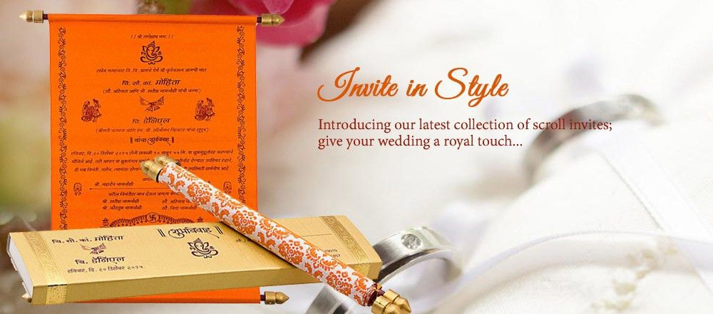 Wedding Cards Online | Wedding Cards Design | Indian Wedding Cards